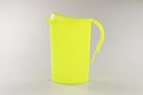 TUPPERWARE Junge Welle Kanne 2,1L neon gelb Pure Quelle J15 Servierkanne Servier
