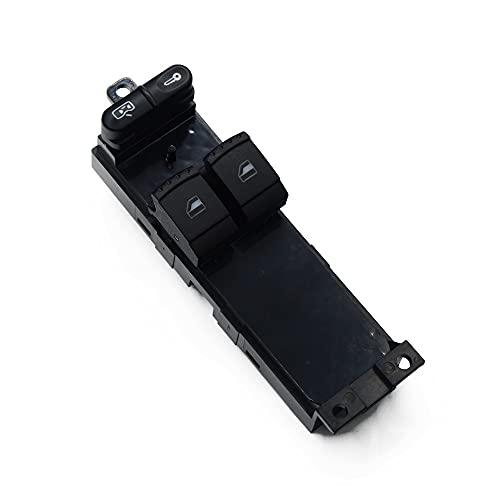 ECVYGJ Compatible con Skoda Fabia Octavia VW Bora Golf Seat Leon Interruptor de elevalunas eléctrico