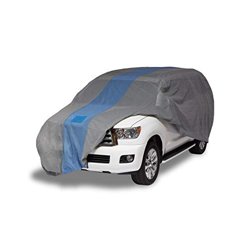 Duck Covers Defender SUV Cover for SUVs/Pickup Trucks with Shell or Bed Cap up to 17' 5""