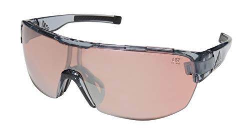 adidas Zonyk Midcut L Sunglasses 2018 Gray Transparent Shiny LST Active Silver