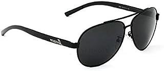 نظارة شمسية للرجال من فيثديا اطار أسود