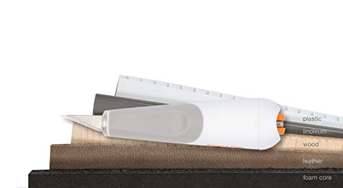 Fiskars Kit Universal para Esculpir, Cincelar y Serrar, Cúter de Precisión y Set de...