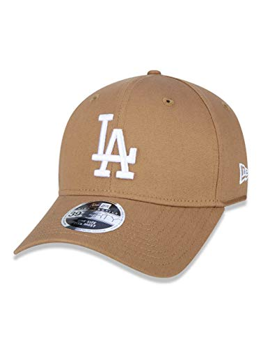 BONE 39THIRTY HIGH CROWN MLB LOS ANGELES DODGERS ABA CURVA STRETCH FIT KAKI New Era