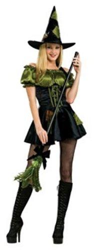 Rubies 2 888885 M - Costume da strega, colore: Verde (Taglia M)