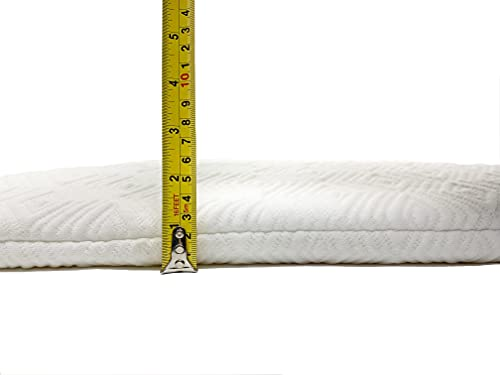 St.teil 4-6cm Ultra-Thin 100% Natural Talalay Latex Breathable Latex Pillow of Hanland Imports Cervical Contour Pillow 65×40×4CM (Ultra Slim)