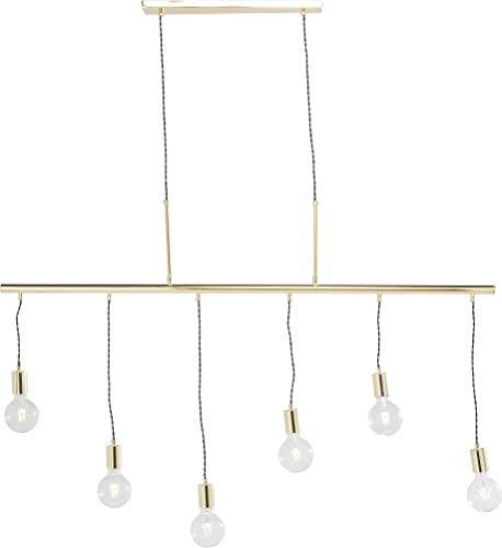 KARE  Lámpara Colgante Six Lights, Multicolor, 140 X 135 X
