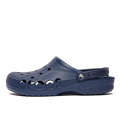 Crocs Baya Clog, Zuecos Mujer, Azul Navy, 42 EU