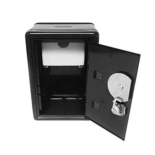 GPWDSN Creative Bank Mini Caja de Efectivo Contraseña Moneda Digital Depósito en Efectivo Regalo de año Nuevo para niños Caja Fuerte de Ahorro (C)