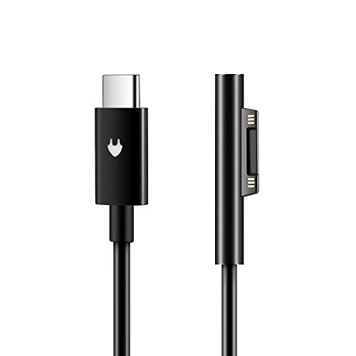 Surface Connect to USB C Charging Cable Compatible with Surface Pro 3/4/5/6/7, Surface Laptop 3/2/1,Surface Go, Surface Book(1.8M 6ft)