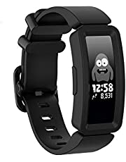 T Tersely Sport Band Strap for Fitbit ACE 2, Soft TPU Silicone Metal Buckle Replacement Bands Fitness Sports Bracelet Strap for Fitbit ACE2 Tracker