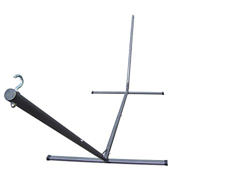 Petra's 15' Heavy Duty Tri-Frame Texture Coated Steel Hammock Stand, 300lbs Weight Capacity, 2 Steel Chains Included
