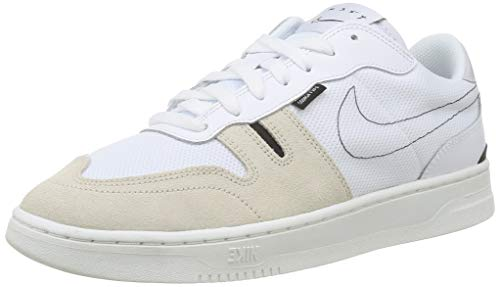 Nike Squash-Type, Zapatillas Hombre, Summit White/Black/Vast/Grey/White, 44.5 EU