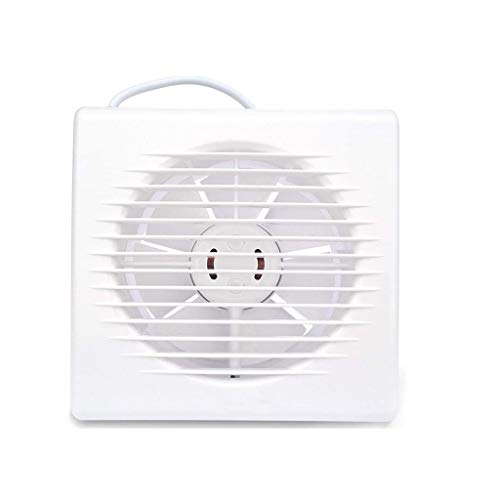 RJSODWL Mini Extintor, Flujo Blanco Ventilador de ventilación, 6 Pulgadas Mini Hogar Baño Silencio Extintor