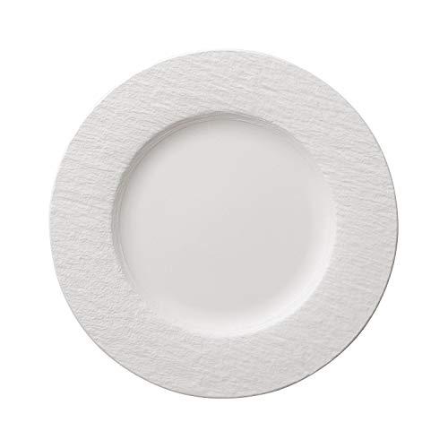 Villeroy & Boch 10-4240-2620 Assiette Plate, Porcelaine Premium, Blanc, 27 cm