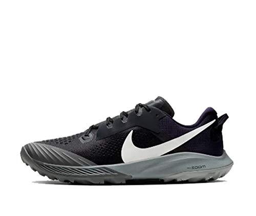 Nike Air Zoom Terra Kiger 6, Sneaker Hombre, Off Noir/Spruce Aura-Negro-Iron Grey, 45.5 EU