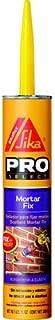 Sika Pro Select 187784 10oz Non-Shrink Mortar Fix, Gray-Case of 12