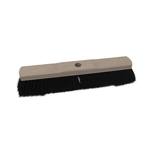 Saalbesen mit Mischhaar-Borsten und Holzkörper   mit Stielloch   40 cm   ohne Stiel
