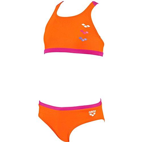 arena Mädchen Bikini Astrum, Mango, Rose-Violet, 116, 1A593