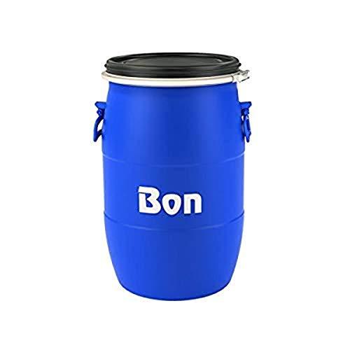 Bon 77-903 Mixing Barrel - 15 Gallon, Blue
