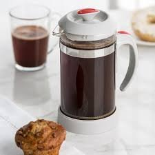 Trudeau 1L Coffee Press Lt Grey