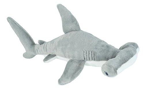 Wild Republic Hammerhead Shark Plush, Stuffed Animal, Plush Toy, Gifts for Kids, Cuddlekins 13 inches