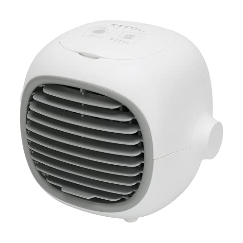 Ventilatore da tavolo, filtro multistrato per mini condizionatore d'aria con supporto raffreddamento multistrato e raffreddamento rapido per fornire un'aria migliore e godersi l'estate