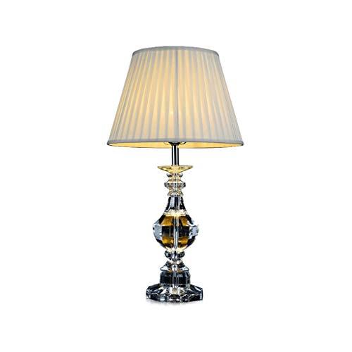 SPNEC Lámpara de Mesa LED de Cristal Minimalista Moderno Creativo decoración de Muebles Sala de Estar de Noche del Hotel