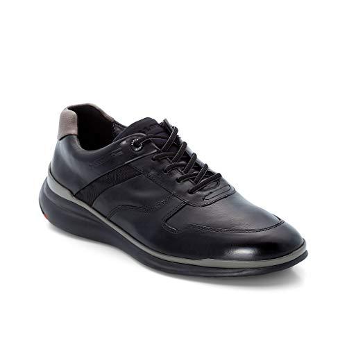 LLOYD Herren Low-Top Sneaker Matai, Männer Sneaker,Halbschuh,Schnürschuh,Strassenschuh,Business,Freizeit,SCHWARZ/Graphit,9 UK / 43 EU