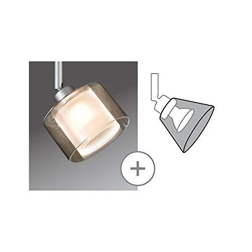 Paulmann 70174 DecoSystems Deco scherm voor spots of pendel Twice helder opaak glas