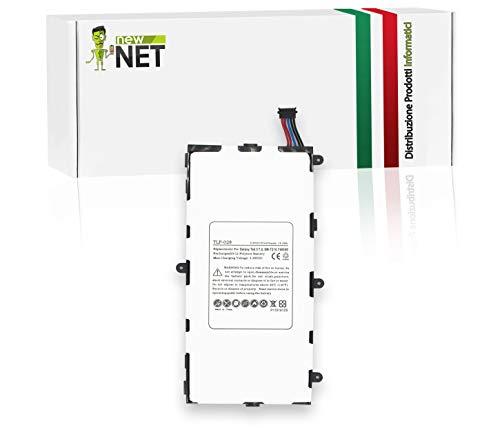 New Net - Batería de repuesto para tablet Galaxy Tab 3 7.0 (4000 mAh, 3,8 V)