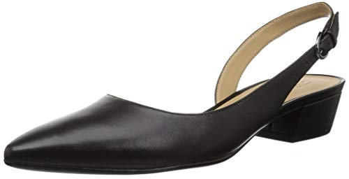 Naturalizer Women's Banks Pump, Black Leather, 8.5 M US
