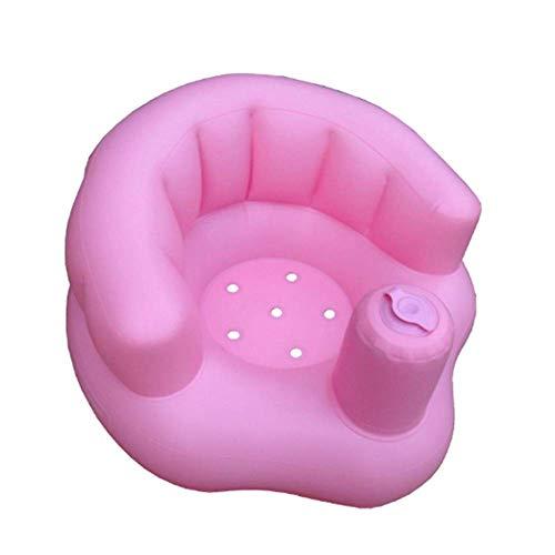 ALWWL Kinder Baby Aufblasbarer Sessel, Baby Sofa Aufblasbares, Baby Aufblasbarer Stuhl, Baby Aufblasbarer Sitz, Badesitz, Badespielzeug, für Babys ab 6 Monate