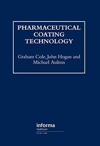 Pharmaceutical Coating Technology (English Edition)