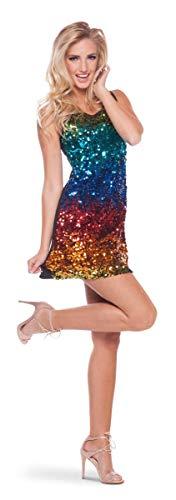 Folat Vestido arcoíris para Mujer S-M