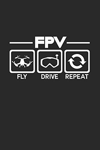 FPV Repeat: 6x9 FPV | blank with numbers paper | notebook | notes