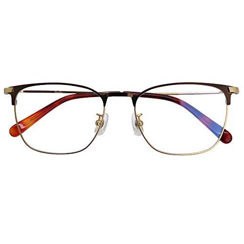 SHOWA ブルーライトカット 中近両用メガネ ブランシック クラシック cl-3063 (メンズセット) 全額返金保証 ブルーライト カット 老眼鏡 おしゃれ メンズ 男性 メガネ 眼鏡 パソコン PC メガネ リーディンググラス (瞳孔間距離:69mm