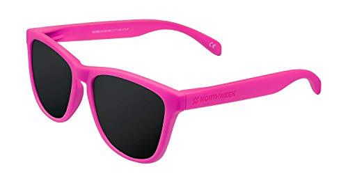 NORTHWEEK Regular Moore Gafas, Rosa Fluor, Adulto Unisex Adulto
