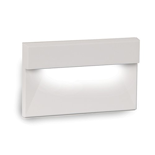 WAC Lighting WL-LED140-C-WT LED Horizontal Ledge Step and Wall Light 120V 3000K, White