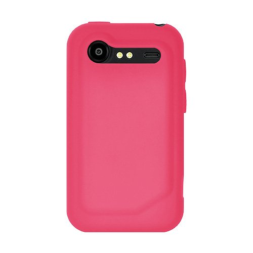 Siliconen hoes voor HTC Incredible S, Baby Pink