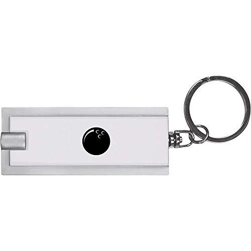 Azeeda 'Bowlingkugel' Schlüsselanhänger LED Taschenlampe (KT00005161)