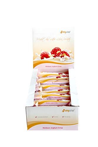myline Riegelbox Himbeer-Joghurt-Crisp, 24 x 40g
