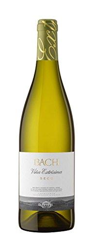BACH EXTRISIMO vino blanco seco DO Cataluña botella 75 cl