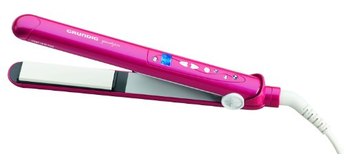 Grundig HS 5732 Hair Styler (Straight und Curls), pink