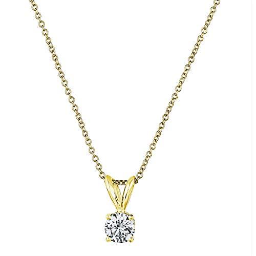 Premium AGS Certified Diamond Pendant