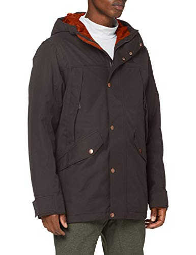 Jack Wolfskin Herren CLIFTON HILL JACKET M wasserdichte Winterjacke, brownstone, L