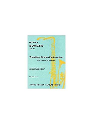 Tonleiter-Studien: op. 70. Saxophon (Flöte/Oboe/Klarinette).