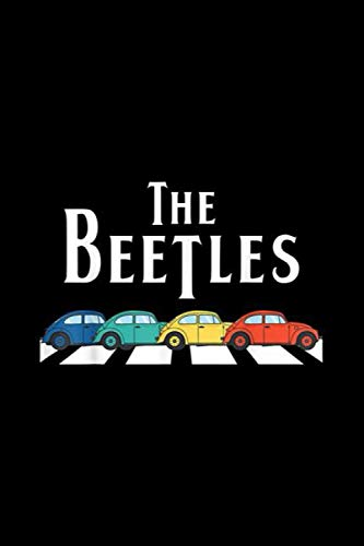 Classic Vintage Buggy Car The Beetles Old Bugs Lover: Journal, Lined Notebook, 120 Blank Pages, Journal, 6x9 Inches, Matte Finish Cover