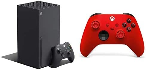 Xbox Series X + Xbox Wireless Controller, Red Valentine