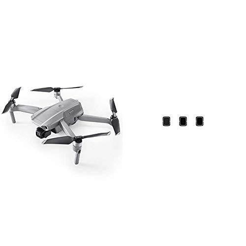 DJI Mavic Air 2 – Drone avec Vidéo 4K Ultra HD, Photo 48 Mégapixels, Capteur CMOS ½ Pouces, Vitesse Max, Autonomie de 34 Min, Gris + Filters Set (ND4/8/32) - Photography Filters Accessory for Drone