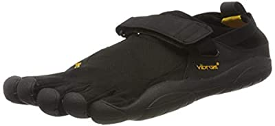 Vibram Men's KSO Trail Running Shoe, Black, 46 EU/11.5-12 US M